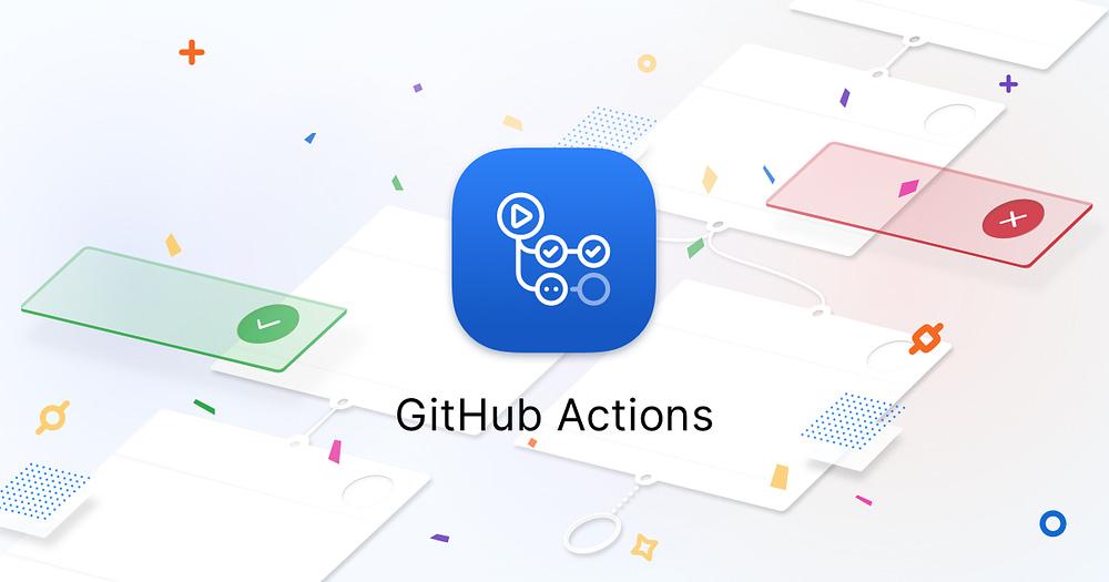 GitHub Actions - Image courtesy of GitHub Blog at https://github.blog/2019-08-08-github-actions-now-supports-ci-cd/